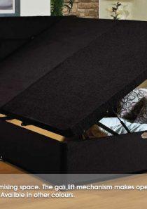 Ottoman Bed + Mattress
