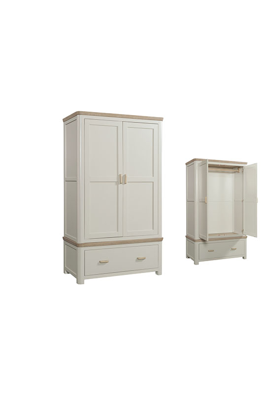 Treviso Painted Double Wardrobe