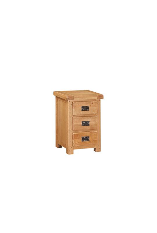 Somerset 3 Drawer Nightstand