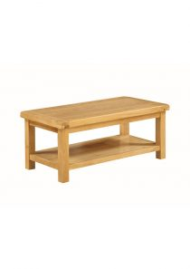 Somerset Large Coffee Table with shelf