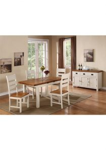 Heritage 4′ Extension Butterfly Dining Set