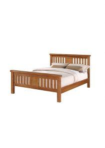 Harvest Oak 4′ 6 Bed