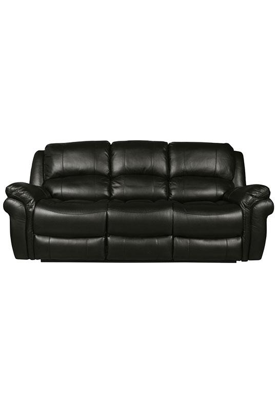 Farnham LA 3 Seater (Black)