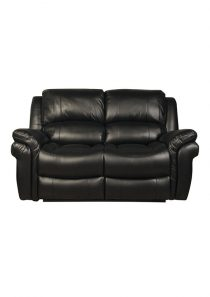 Farnham LA 2 Seater (Black)