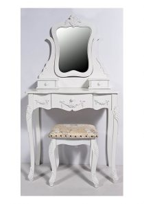 The Grange Interior Venice Dressing Table (H 77cm x L 39cm x W 81cm)